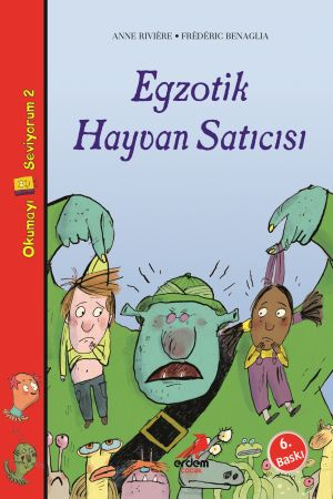 Okumayı Seviyorum 2 – Egzotik Hayvan Satıcısı