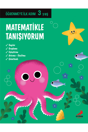 Öğrenmeye İlk Adım – Matematikle Tanışıyorum 3 yaş
