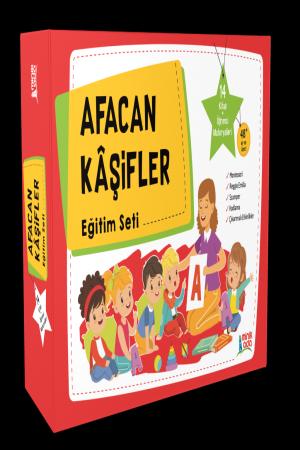 Afacan Kâşifler Okul Öncesi Eğitim Seti (14 Kitap)