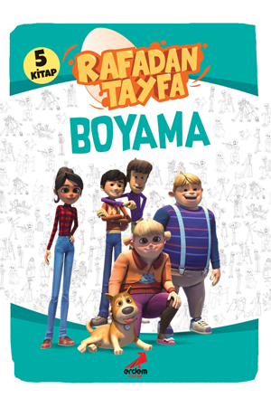 Rafadan Tayfa Boyama Set (5 kitap)