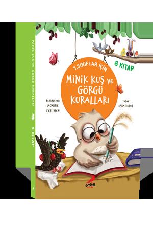 Minik Kuş ve Görgü Kuralları (8 Kitap)