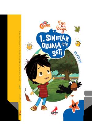 Ege ile Gaga 1. Sınıflar için Okuma Seti (10 kitap)